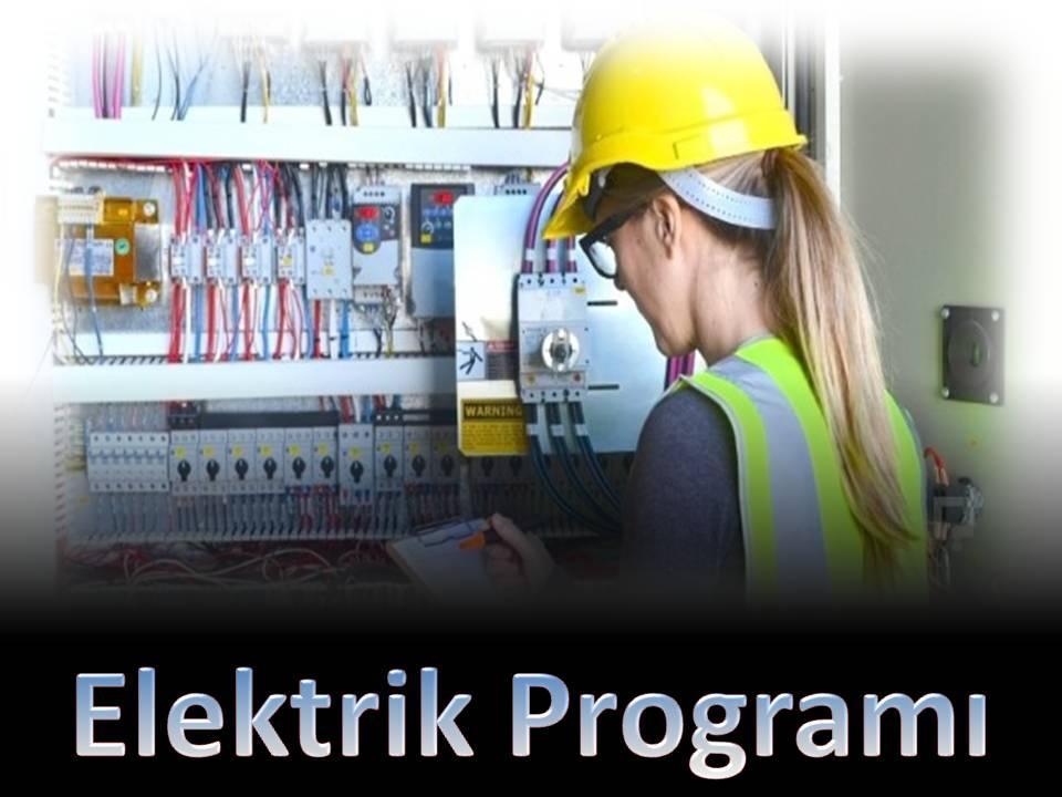 Elektrik Programı