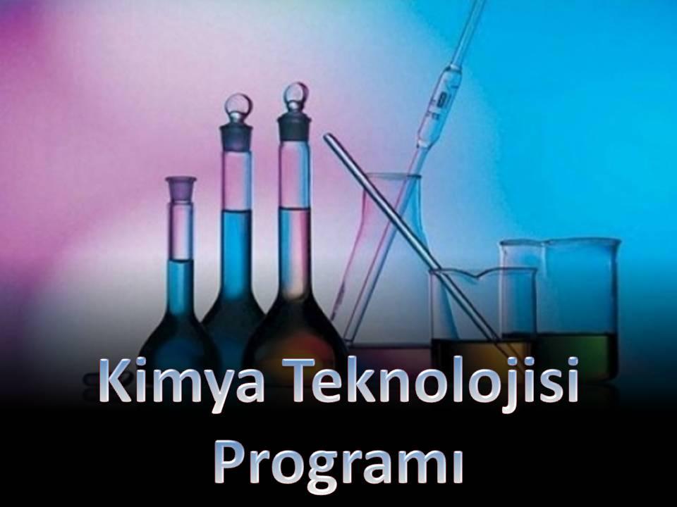 Kimya Teknolojisi Programı