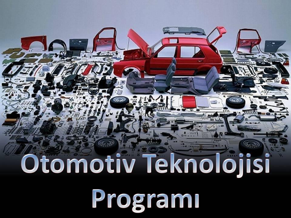 Ototmotiv Teknolojisi Programı